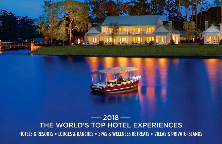 Prêmio elege melhores hotéis de luxo do mundo